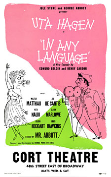 In Any Language 1952 Producing